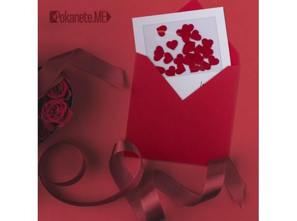 КАРТИЧКА ОБИЧАМ ТЕ (LOVE YOU)