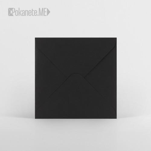 Плик за писмо квадратен - черен