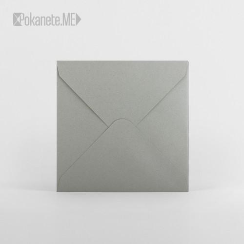 Пощенски плик - сив
