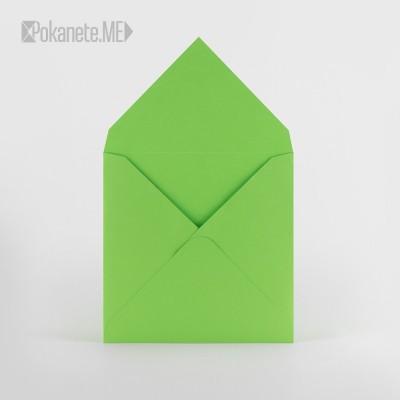 Цветен плик - светло зелен