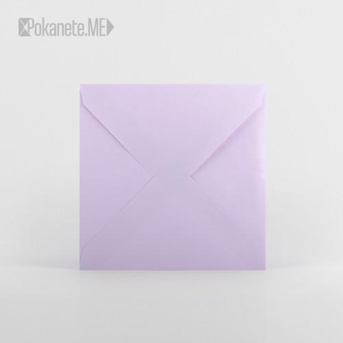 Цветен плик за писмо - лилав