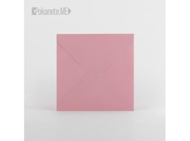 Плик за писмо квадратен - розов