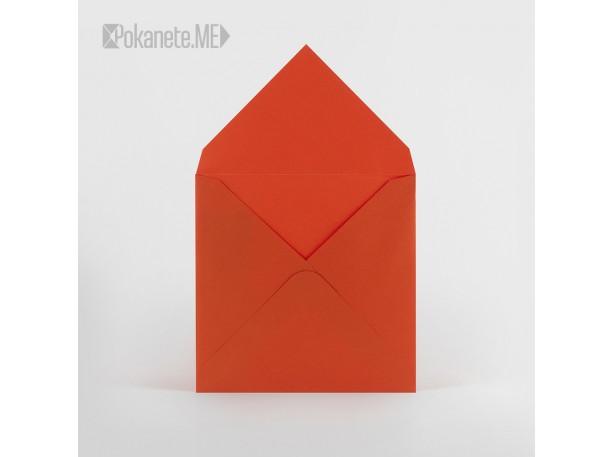 Цветен плик за писмо - оранжев