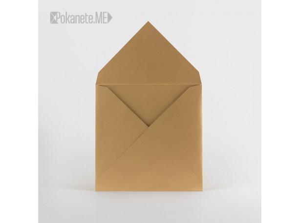 Цветен плик за писмо IQ - старо злато