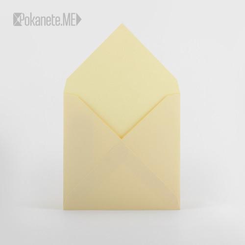 Цветен плик за писмо IQ - крем