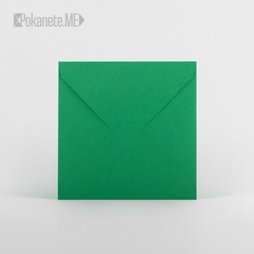 Цветен плик - зелен